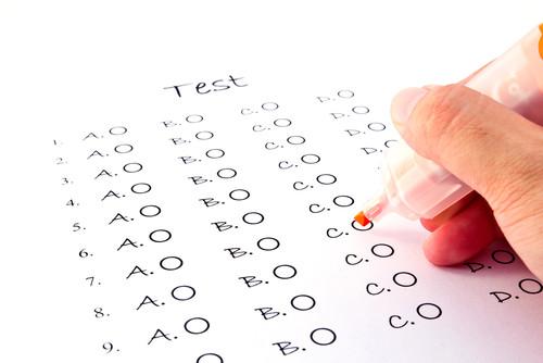 Examenvragen van alle vakken tweede semester (pdf-document, 12 pagina's, opgave én oplossing )